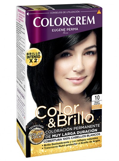 tono negro intenso 10 coloracion permanente colorcrem