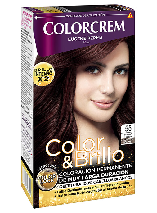 tinte marron caoba 55 coloracion permanente