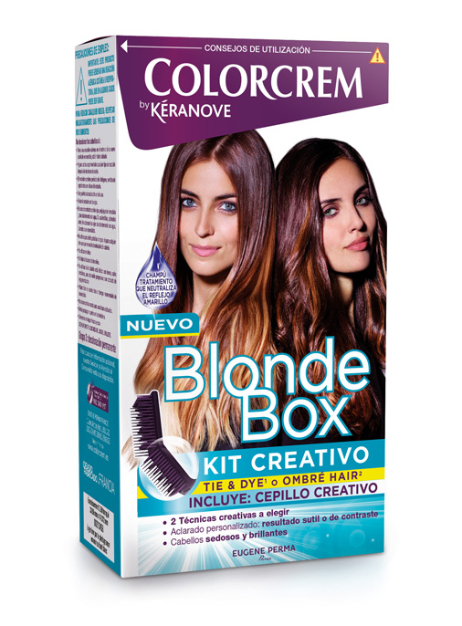 blonde box kit creativo