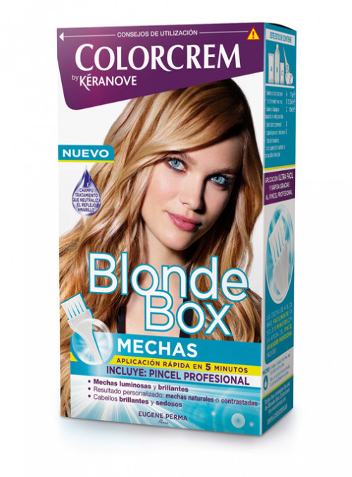 blonde box mechas