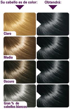 resultado color cabello colorcrem tinte 01