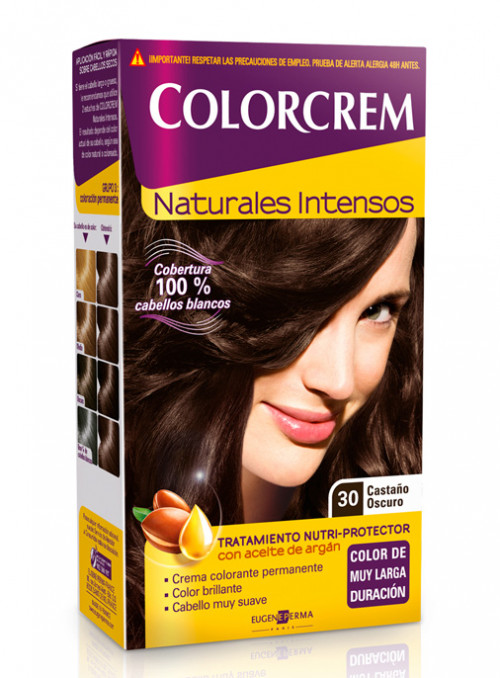 colorcrem 30 castaño oscuro