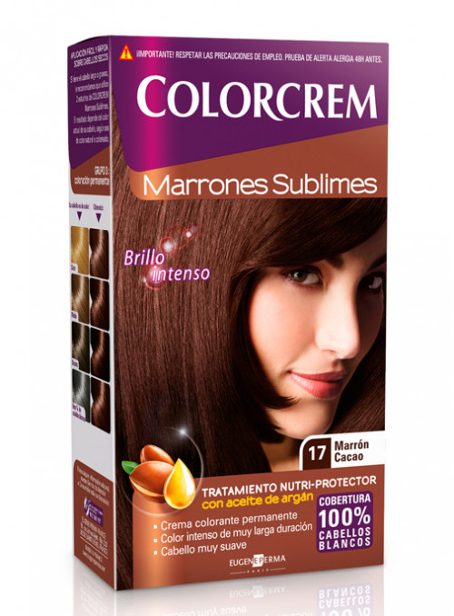 colorcrem 17 marron cacao
