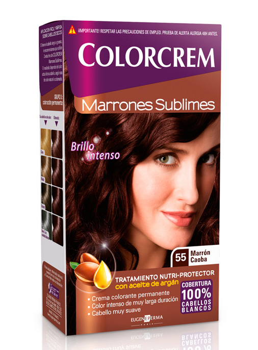 tono 55 marron caoba colorcrem