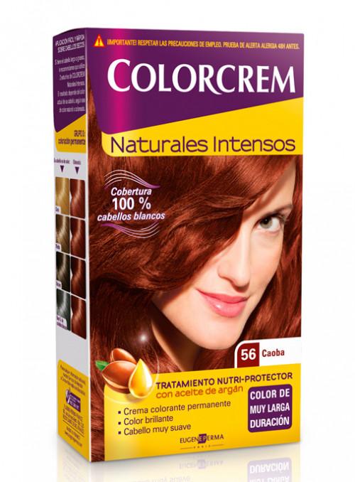 colorcrem 56 caoba tinte permanente cobertura canas