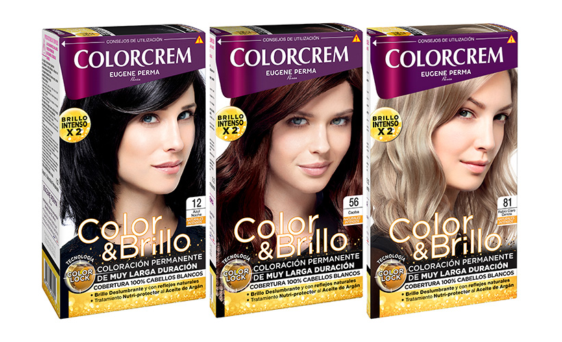 coloracion permanente colorcrem relanzamiento
