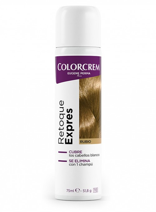 eliminar canas en cabellos rubios retoque expres