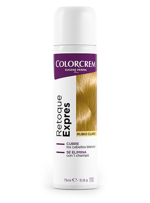 spray retoque expres eliminar cabellos blancos en raíces rubios