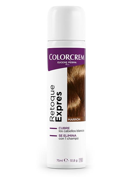 spray retoque para eliminar raíces en cabellos castaño