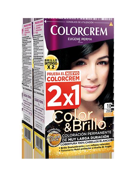 tono 10 negro intenso colorcrem